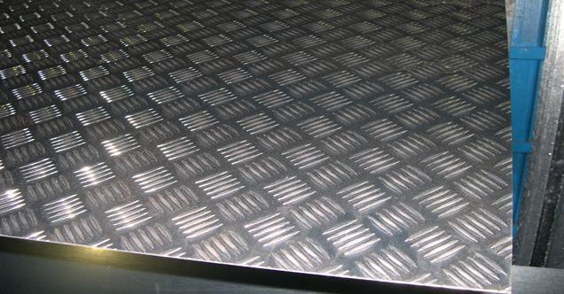 Aluminio Damero